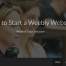 Build Weebly Website