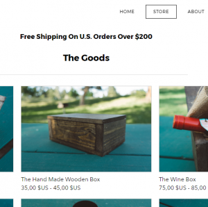 weebly storeexample 5