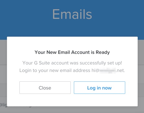 Emails with Weebly