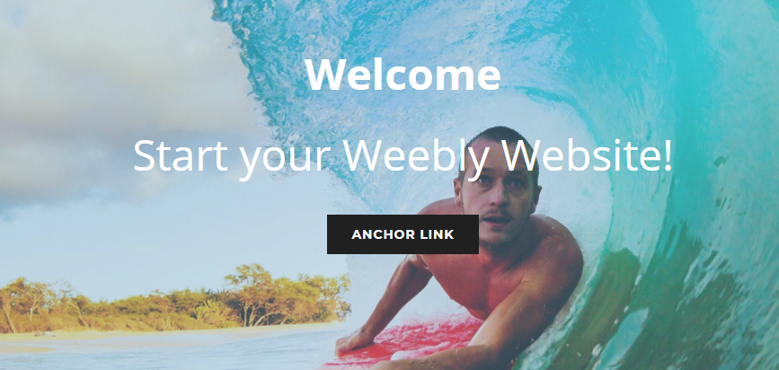 Weebly anchor links