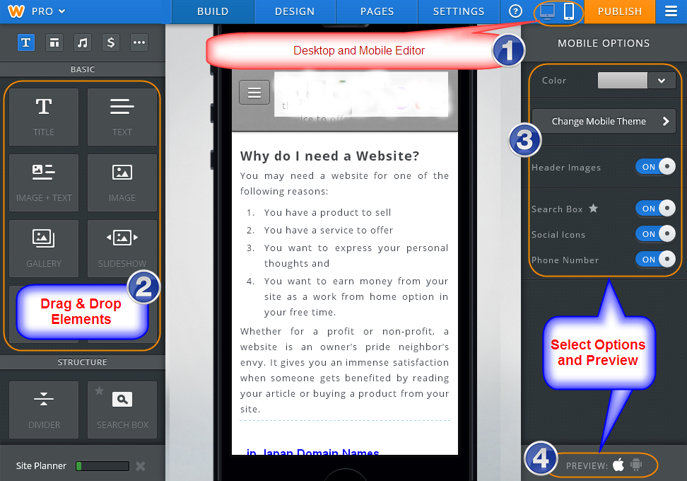 Weebly-Mobile-Editor
