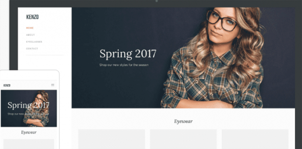 Squared weebly theme