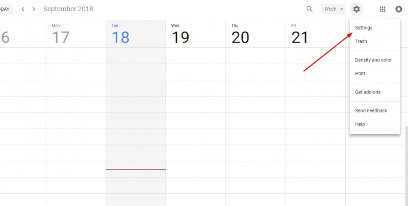 add Google Calender to Weebly