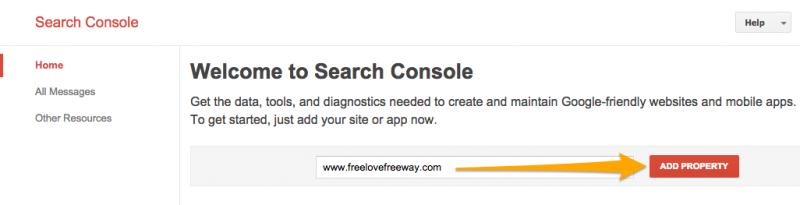 Verify Weebly website