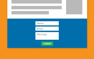 Weebly contact form