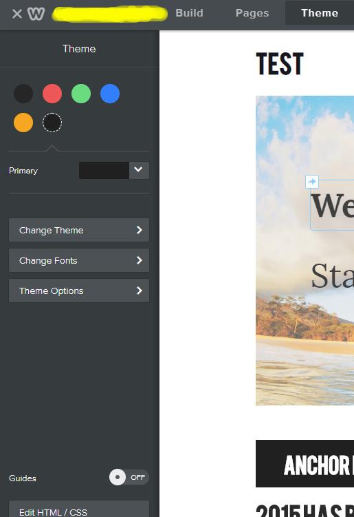 Backup weebly themes