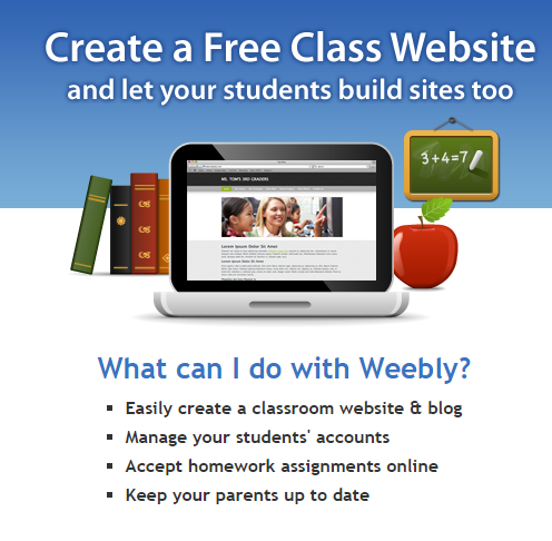 Weebly for education