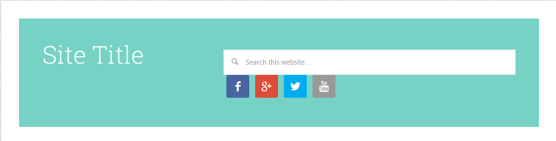 Add Phone Text, Social Icons & Search Box in Weebly Header
